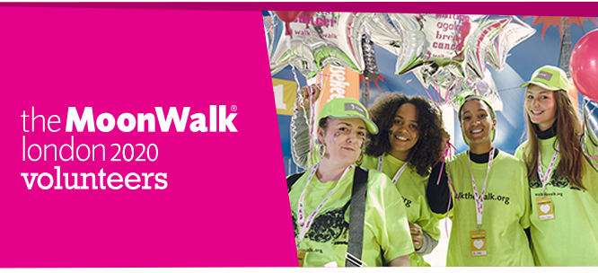 London Moonwalk 16/17 May 2020