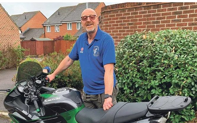 Determined bikers find ways to smash 5000-mile target